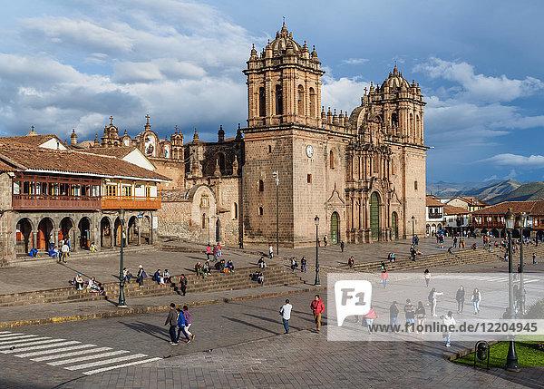 Cathedral of Cusco  UNESCO World Heritage Site  Cusco  Peru  South America