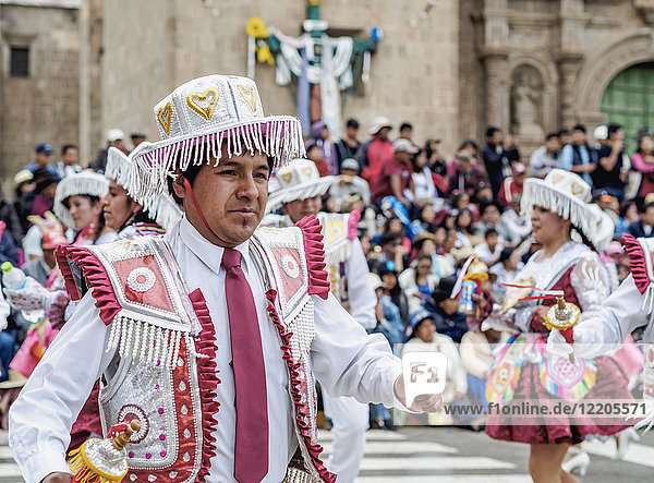 Fiesta de la Virgen de la Candelaria  Main Square  Puno  Peru  South America