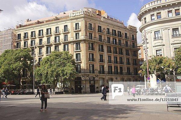 Hotel Colon  Via Laietana  Barcelona  Spain.