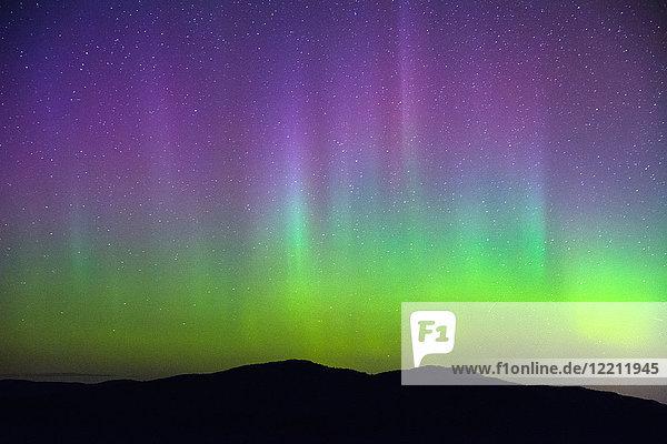 Nordlicht  Nickel Plate Provincial Park  Penticton  Britisch-Kolumbien  Kanada