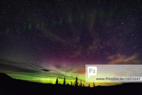 Nordlicht  Polarlichtbogen  Nickel Plate Provincial Park  Penticon  Britisch-Kolumbien  Kanada Nordlicht, Polarlichtbogen, Nickel Plate Provincial Park, Penticon, Britisch-Kolumbien, Kanada