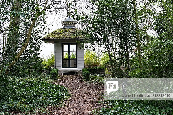Rotterdam Overschie  Netherlands. Tea House at The Temple Country Seat and Estate.