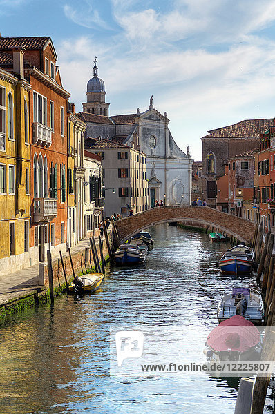 Italy  Veneto  Venice  typcal cityscape