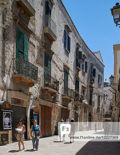 Europe  Italy  Puglia  Bari city  the old town