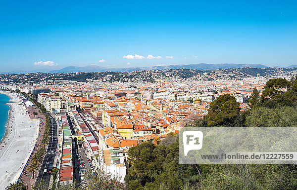 Nice  panorama of the city seen from the castle hill