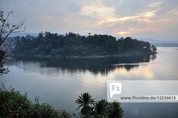 Democratic Republic of Congo  Kivu Lake