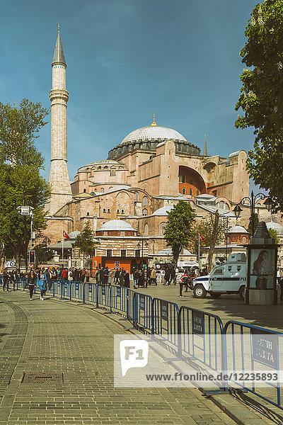 Turkey  Istanbul  Hagia Sofia Mosque