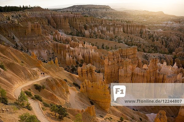 Sunset Point  Bryce National Park  Utah  United States of America  North America