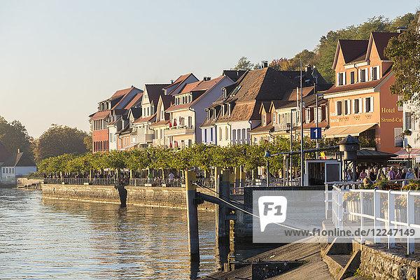 Lower town  Meersburg  Baden-Wurttemberg  Germany  Europe