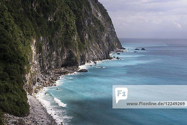 Qingshui-Klippen in Hualian  Taiwan  China  Asien