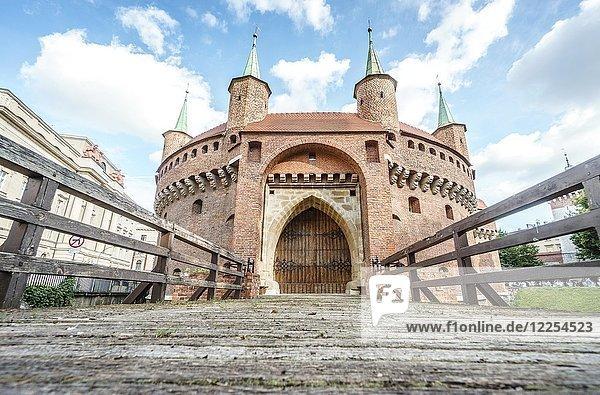 Barbacan  Krakow  Poland  Europe