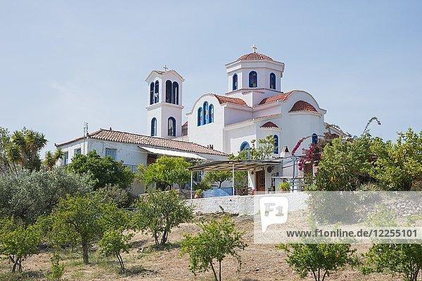 Orthodoxe Kirche  Thermisia  Argolis  Peloponnes  Griechenland  Europa