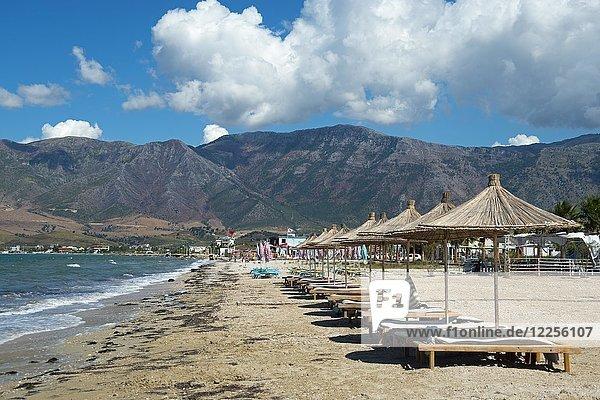 Strand  Orikum  Riviera  Ionisches Meer  Albanien  Europa