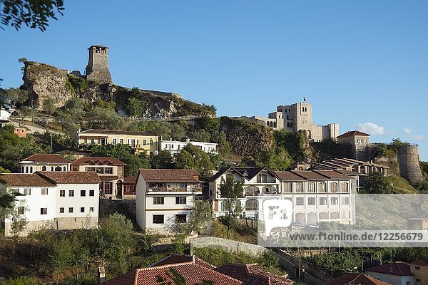 Festung mit Skanderbeg-Museum  Kruja  Albanien  Europa
