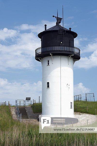 Leuchtturm Dicke Berta  Altenbruch  Cuxhaven  Niedersachsen  Deutschland  Europa