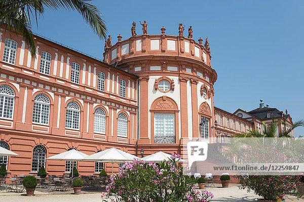 Schloss Biebrich  Biebrich  Wiesbaden  Hessen  Deutschland  Europa