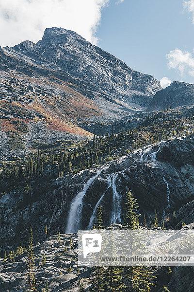 Kanada  British Columbia  Columbia-Shuswap A  Gletscher-Nationalpark  Sir Donald Peak