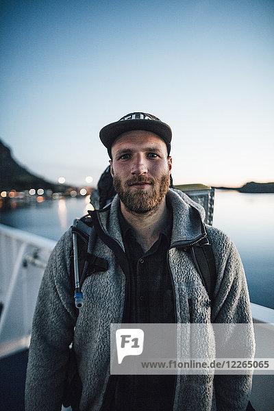 Kanada  British Columbia  Porträt des Menschen an der Westküste
