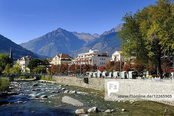 Italien  Südtirol  Meran  Kurhotels  Passer