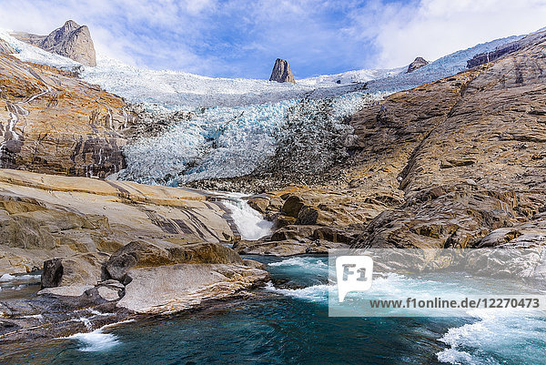 Qualerallit glacier  Narsaq  Vestgronland  Greenland