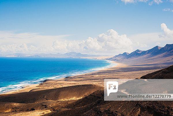 View to sea  Corralejo  Fuerteventura  Canary Islands