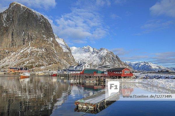 Reine  Lofoten  Norway  Europe.