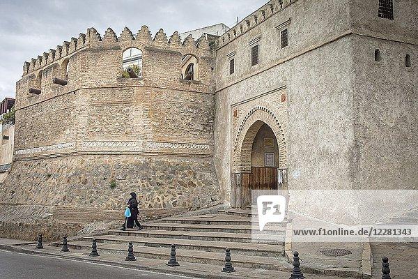 Bab okla gate  and wall of the medina  medina  UNESCO World Heritage Site Tetouan  Morocco.