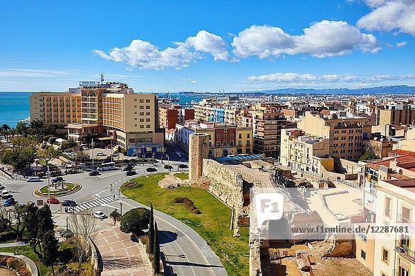 Praetorium and Roman Circus  History Museum of Tarragona (MHT)  Tarragona City  Catalonia  Spain  Europe
