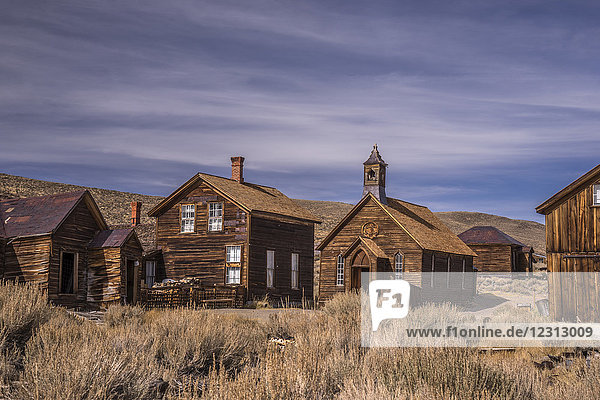 USA  California  Bodie  ghost town 19 th century  Methodist Church