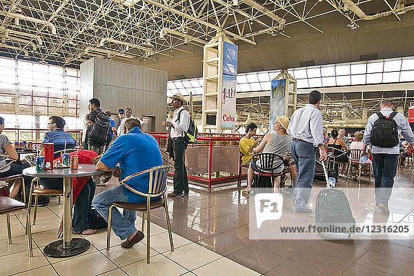 Airport and fly  international airport Josè Martì  Havana  Cuba