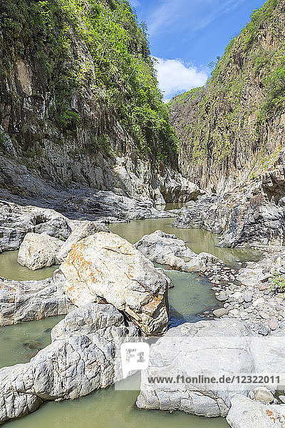 Inside the Somoto Canyon  Nicaragua  Central America