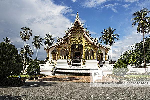 Haw Pha Bang Temple at the Royal Palace grounds; Luang Prabang  Laos