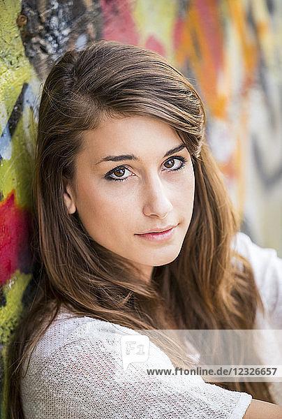 Fashion Lifestyle  Portrait Of Beautiful Young Woman