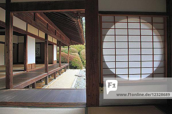 Japan  Takahashi  Raikyuji Temple  garden  Okayama Prefecture