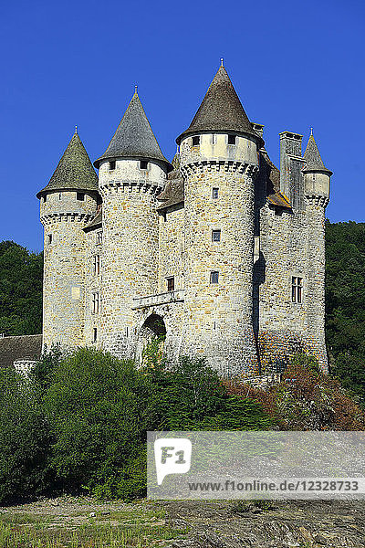 Europe  France  the Chateau de Val in the Cantal  Mandatory credit: de Val Castle
