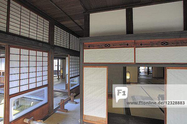 Japan,  Kumamoto,  Hosokawa Gyobu-tei,  samurai residence,  interior