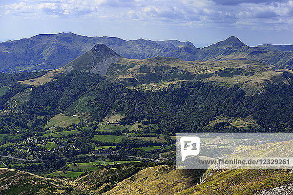 Europe  France  raised around the Puy Mary in the Cantal