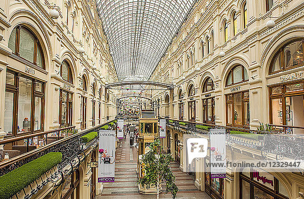 Russia  Moscow  the Goum mall on the Red Square