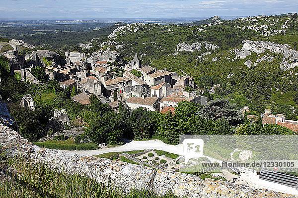 France  Provence Alpes Cote d'Azur  Bouches du Rhone (13)  Alpilles area  Les Baux de Provence