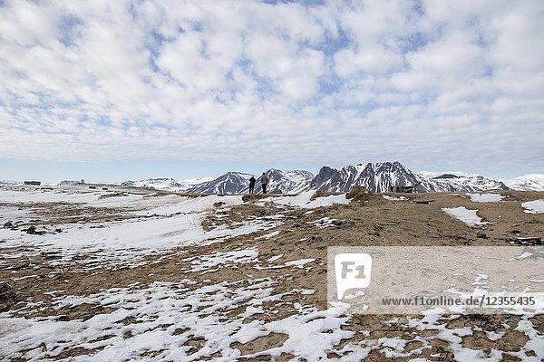 Ytri tunga seal reserve in Iceland Snaefellsnes peninsule.