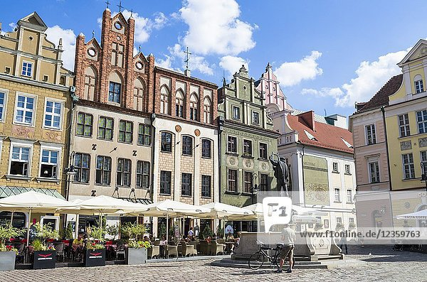 Old Town Square  Poznan  Poland.