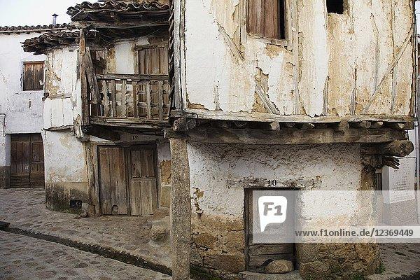 Antiguo barrio de la Juderia (Old Jewish Quarter). Valverde de la Vera. Caceres Province  Extremadura  Spain