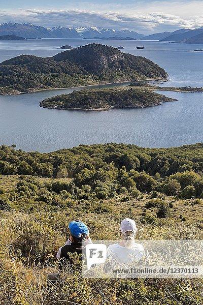Wulaia Bay  also called Caleta Wulaia  Navarino Island Tierra de Fuego  Patagonia  Chile.