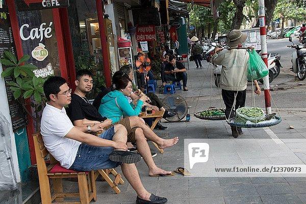 Hoan Kiem District  Hanoi  Vietnam.