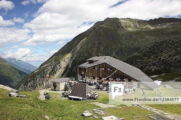 Sulzenau Hütte  Stubaital  Tirol  Österreich  Europa