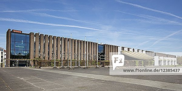 Rathausplatz  Castrop-Rauxel  Ruhrgebiet  Nordrhein-Westfalen  Deutschland  Europa