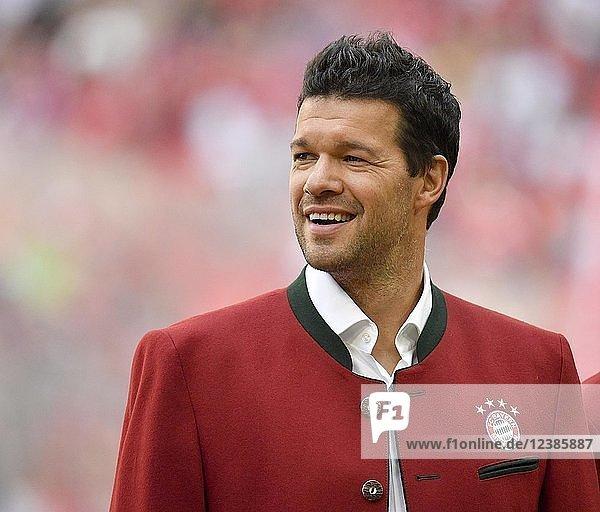 Ehemaliger Michael Ballack FC Bayern München  Portrait  Allianz Arena  München  Bayern  Deutschland  Europa