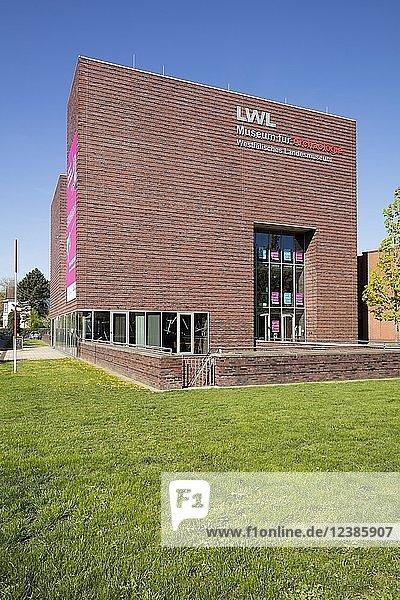 LWL  Museum für Archäologie  Westfälisches Landesmuseum  Herne  Ruhrgebiet  Nordrhein-Westfalen  Deutschland  Europa