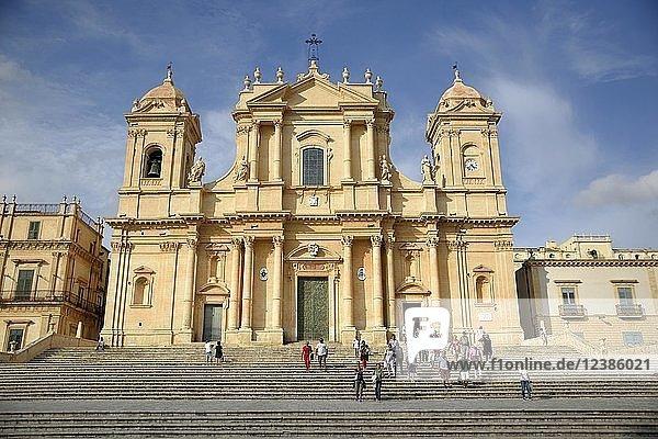 Basilica Minore di San Nicolò  Noto  Provinz Siracusa  Sizilien  Italien  Europa