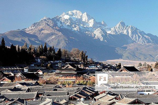 Lijiang Ancient Town Yunnan Province China
